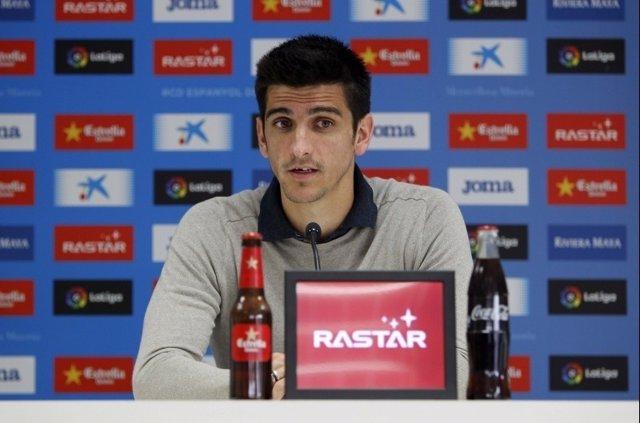 Gerard Moreno, jugador del RCD Espanyol
