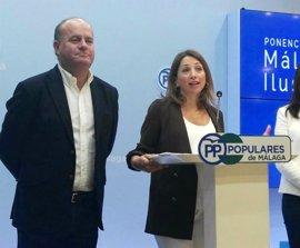 """Navarro (PP-A) dice que la dirección regional no quiere """"controlar"""" sino """"aunar voluntades"""" en Jaén o Sevilla"""