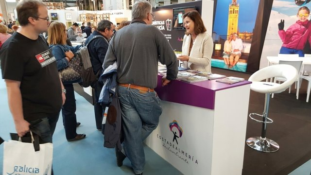 La oferta de 'Costa de Almería' estará presente en el País Vasco toda la semana.