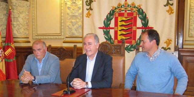 Javier Labarga, Antonio Gato y Alejandro García Pellitero