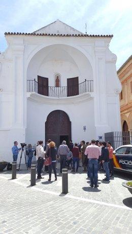 Iglesia velez málaga virge atacan coctel molotov