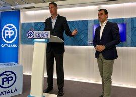 """El PP apela a un PSOE responsable que """"deje de competir con Podemos"""" en mociones de censura"""