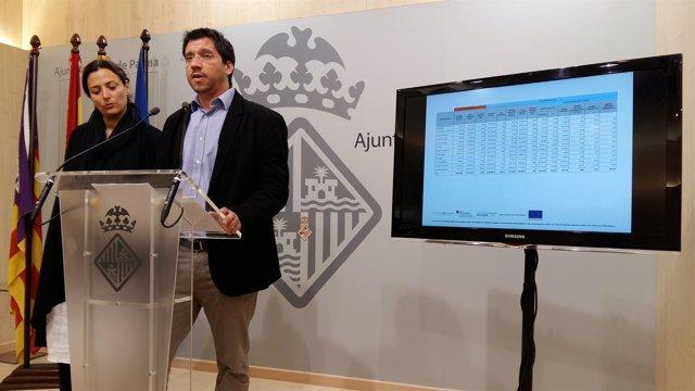 El regidor de Infraestructuras de Palma, Rodrigo A. Romero