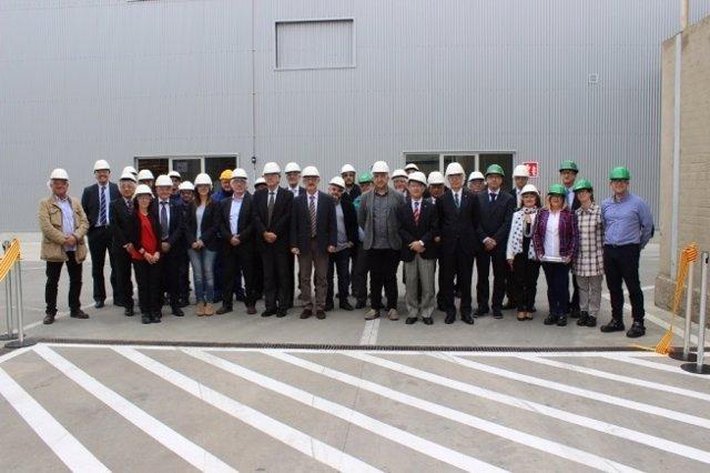 La inauguración de la nueva planta de Kao, en Mollet del Vallès