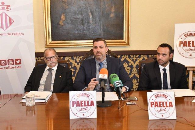 Presentación del II Concurso Nacional Paella de Cullera