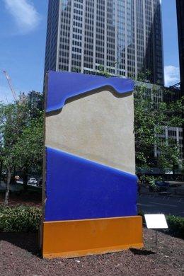 Escultura de Lluís Lleó en el Park Avenue de Nueva York