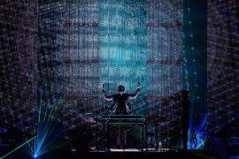 Más de 322.000 personas vieron el concierto de Jarre a través de La 2