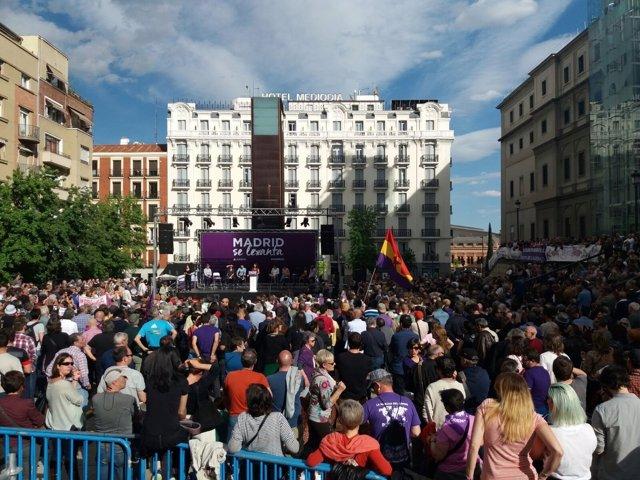 Acto del Dos de Mayo de Podemos Madrid