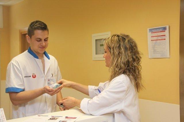 El Hospital San Juan de Dios se une a la Jornada Mundial de la Higiene de Manos