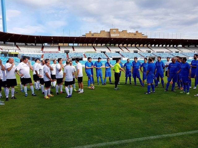 """CaixaBank """"fideliza"""" a sus clientes con un partido de fútbol en La Romareda"""