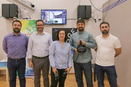 Hila visita 'The Vrand', ganadores de los premios PalmaActiva de Impulso a la Innovación en 2016