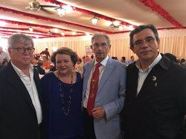 Diputación participa en un homenaje a Manuel Castilla, presidente de la Casa de Jaén en Sevilla desde 1974