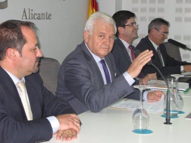 El presidente de COEPA, Francisco Gómez