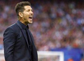 """Simeone: """"Pienso que tenemos opciones porque el fútbol es maravilloso y nos llamamos Atlético"""""""