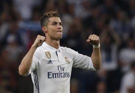 """Cristiano Ronaldo: """"Me tocó marcar, pero el equipo estuvo tremendo"""""""