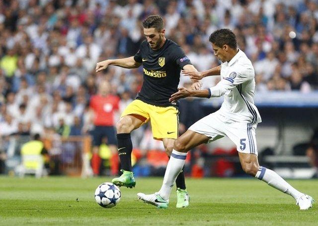 El jugador del Atlético de Madrid Koke Resurrección