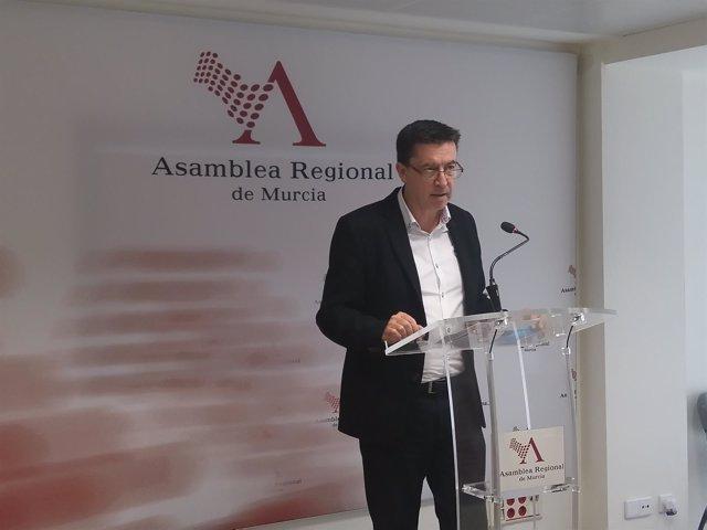 Juan José Molina, diputado de Ciudadanos