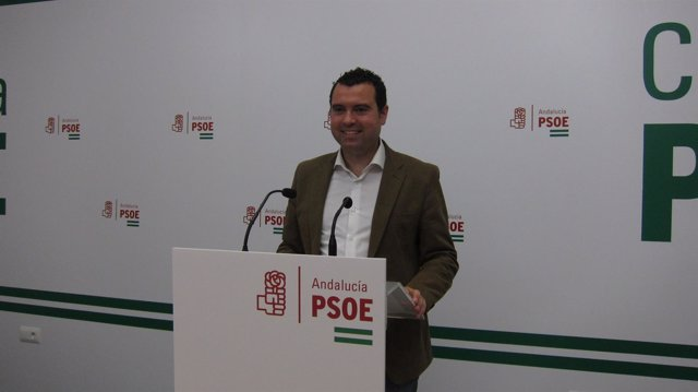 El candidato a la Alcaldía del PSOE de Priego, José Manuel Mármol