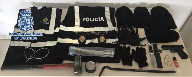 Policía nacional actuación benalmádena vuelvo narco traficantes málaga