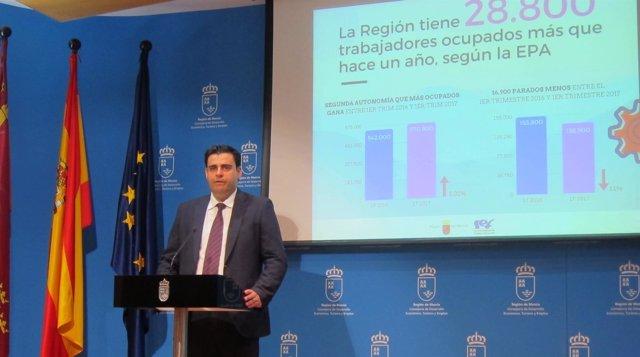 Alejandro Zamora valora los datos de la EPA