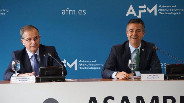 Rueda de prensa de la AFM.