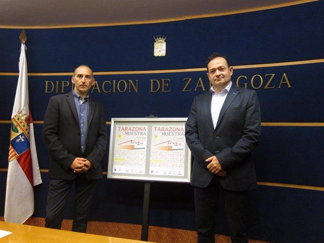 Arrechea y Pascual han presentado la nueva edición de Tarazona Muestra