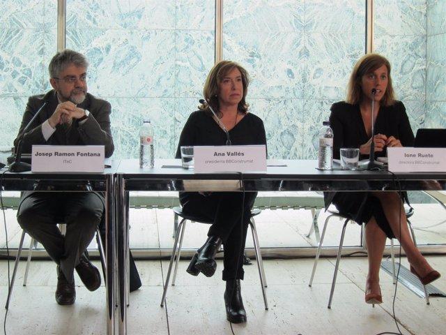 Josep Ramon Fontana, Ana Vallés y Ione Ruete