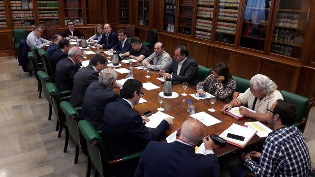 Málaga profea PFEA fondos garantía de rentas subdelegado comisión seguimiento