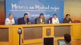 Henríquez de Luna continúa como portavoz adjunto del PP, que crea un coordinador de distritos con Álvaro González
