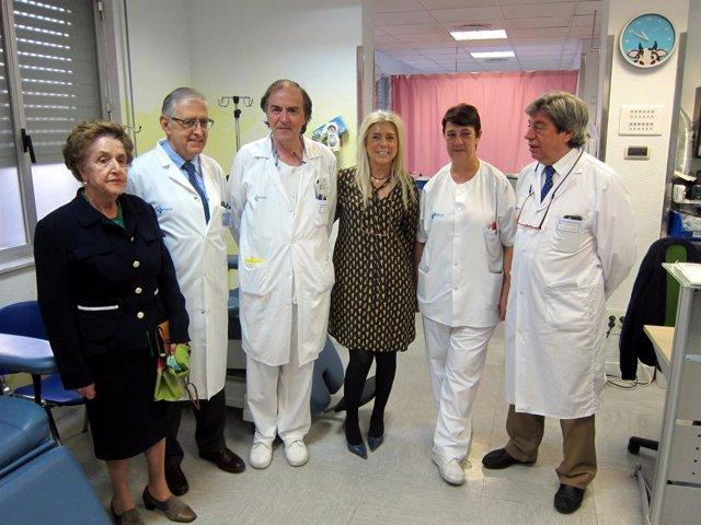 Presentación De Las Mejoras En El Hospital De Día De Salamanca