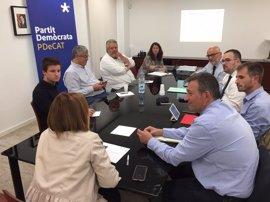 El PDeCAT crea un comité para impulsar una campaña a favor del 'sí' en un referéndum