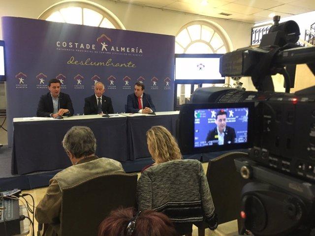 Diputación y Grupo Hoteles Playa traerán turistas alemanes a Almería este año.