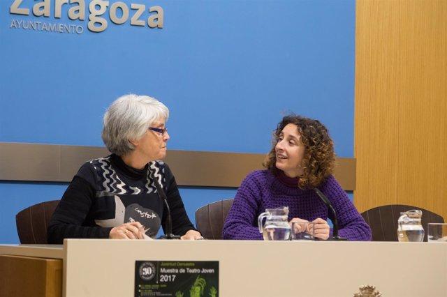 Arantza Gracia ha presentado la nueva edición de la Muestra de Teatro Joven