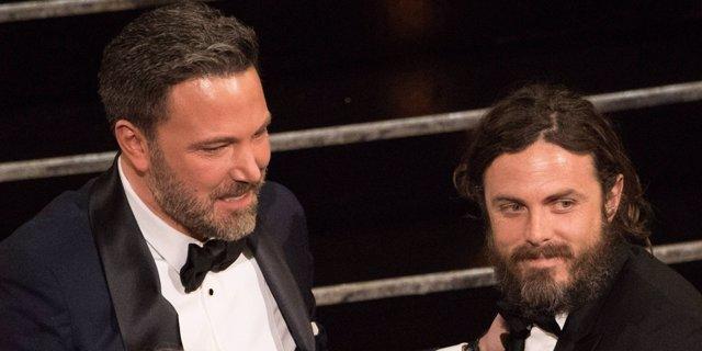 Ben Affleck y Casey Affleck en los Oscar