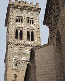 Torre de la Iglesia de la Magdalena en Zaragoza