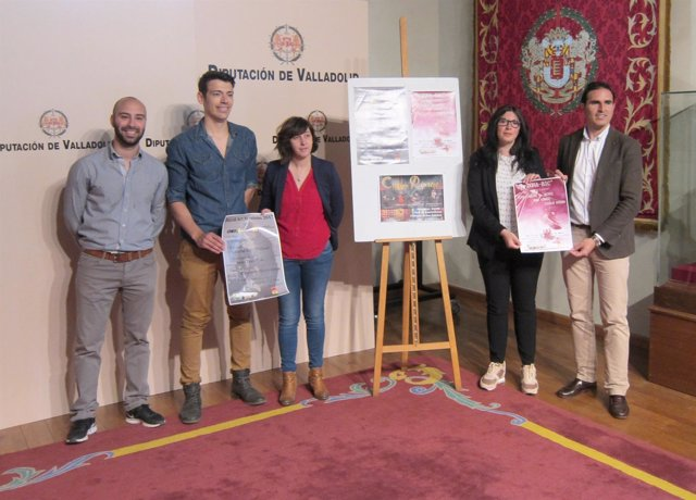 Presentación del ciclo de conciertos en Pedrajas