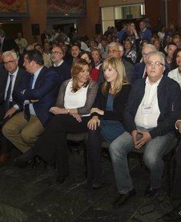 Susana Díaz y Carmen Castilla, en un acto reciente