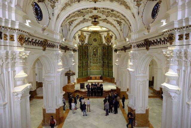 Rehabilitación parroquia de Santiago Málaga iglesia mejora restauración