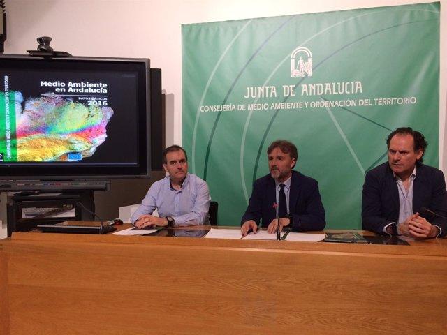 Presentación de los datos del Libro de Medio Ambiente de 2016 en Andalucía