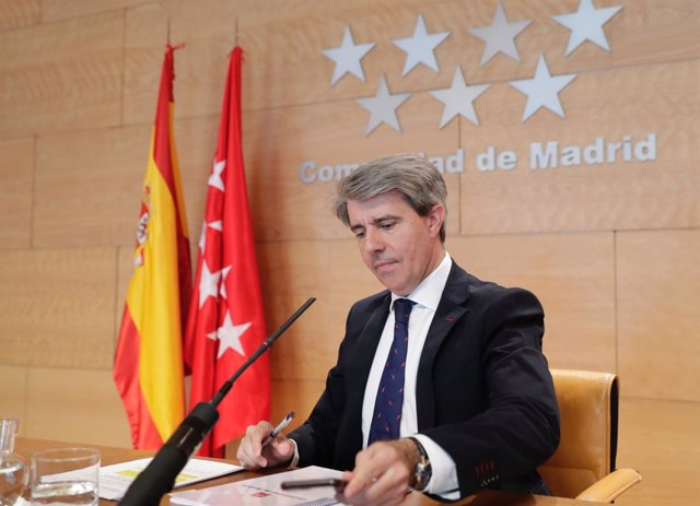 Ángel Garrido, portavoz del Gobierno regional
