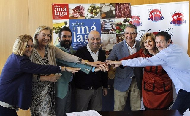 Chefs sabor a malaga promoción marbella all stars gastronomía marca turismo