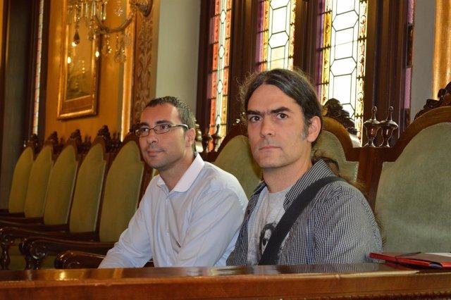 Carlos González y Serti Talamonte (Comú de Lleida)