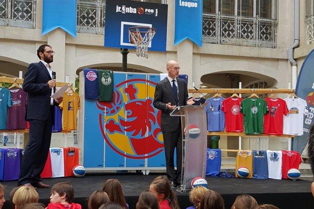 Presentación de la II Liga Jr. NBA-FEB