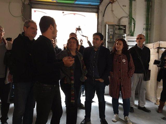 Jordi Via, Dolors Bassa, Gerardo Pisarello y Laura Pérez