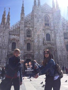 La promoción del No Surrender Festival ha llegado a Milán
