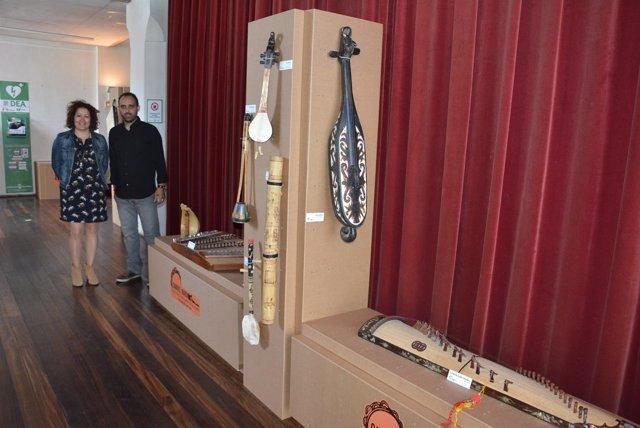 Exposición instrumentos musicales velez-málaga