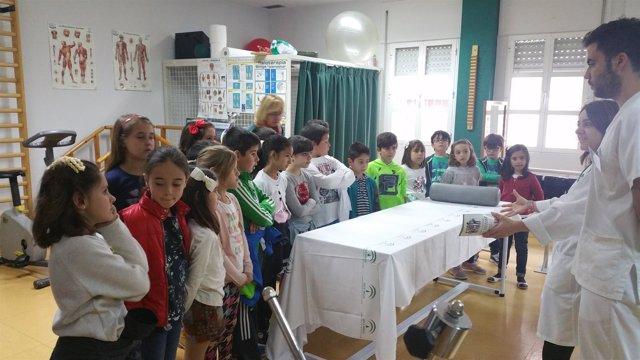 Jornada de puertas abiertas en el centro de salud de Torredonjimeno