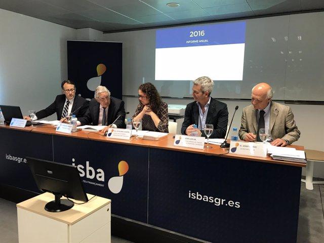 Presentación de la memoria 2016 de ISBA