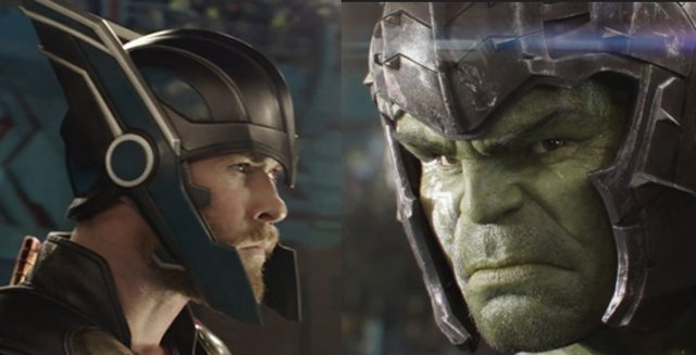 Thor vs. Hulk en Ragnarok