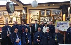 La ONCE dedica un cupón a la Cofradía de San Gregorio de Logroño